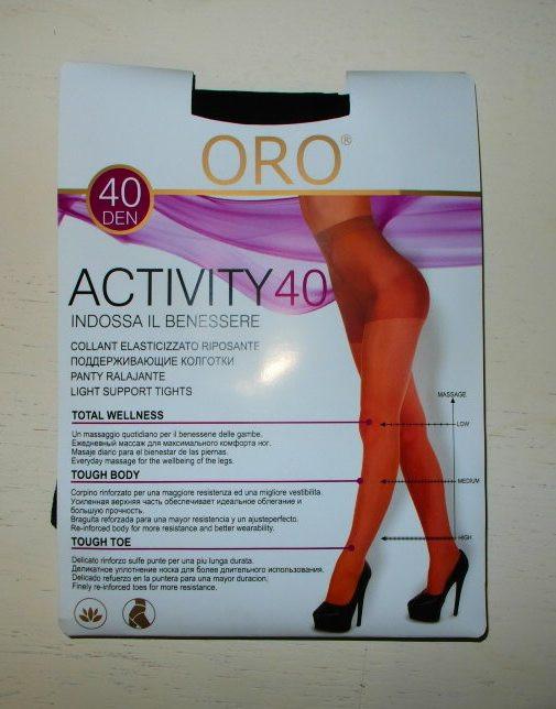 Колготы женские шоколад ORO 40 ден 2-М