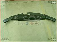 Накладка передней панели, верхняя, пластик (панель замка капота) Emgrand EC7RV [1.5,HB] 1068001696 Китай [аftermarket]