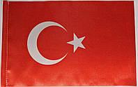 Флажок национальный, односторонний  (15см*23см)