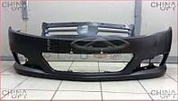 Бампер передний (MK-2, 2010г.-) Geely MKCross [HB] 1018006112-01 Китай [аftermarket]
