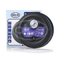 Автомобильный компрессор  ALCA 241500 XL 12v/17bar с манометром (колесо)