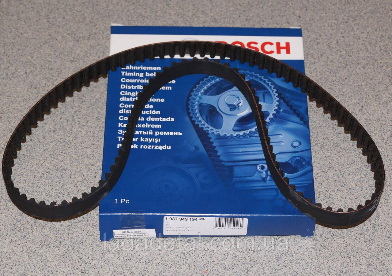 Ремень ГРМ Ланос, Авео, Нексия 1.5 Bosch 9194