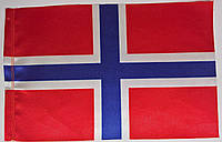 Флажок национальный, двусторонний  (15см*23см)