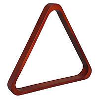 Треугольник коричневый (дуб) 60 мм