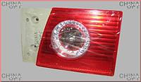 Фонарь задний правый, внутренний Chery Amulet [-2012г.,1.5] A15-3773020BB Китай [аftermarket]