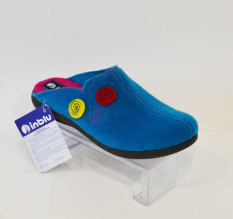 Женские синие тапочки Inblu, фото 2