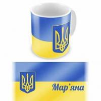 Чашка с флагом и гербом