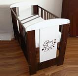 Детская кроватка Klups Mis без ящика, фото 5