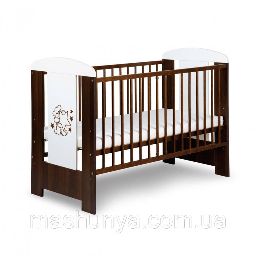 Детская кроватка Klups Mis без ящика