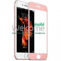 Защитное стекло iPhone 6 3D Tempered Glass Rose full противоударное 0.25 мм