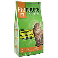Pronature Original (Пронатюр) Cat SENIOR - корм для стареющих кошек от 10 лет, 2.72кг
