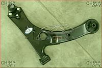 Рычаг передний правый, в сборе, без шаровой, Geely SL, 1064001042, Aftermarket