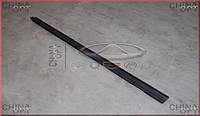 Уплотнитель стекла передней R двери, фетра стекла, внутренняя, Chery A13, Forza [HB], Original