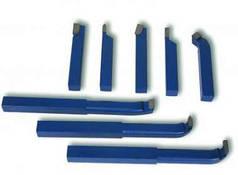 Резцы токарные 12х12мм 8шт(отрезные, проходные, подрезные, расточные)