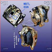Суппорт тормозной передний правый (6GN) Chery Eastar [B11,2.4, ACTECO] B11-3501060BA Китай [оригинал]