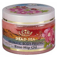 Пилинг для тела Care and Beauty Line Роза и шиповник Антицеллюлитный, подтягивающий  350 мл
