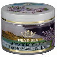 Пилинг для тела Care and Beauty Line Лаванда ваниль и пачули Антицеллюлитный и подтягивающий 350 мл