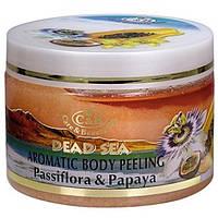 Пилинг для тела Care and Beauty Line Пассифлора и папайа Антицеллюлитный и подтягивающий 350 мл