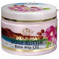 Сливки для тела Care and Beauty Line Роза и шиповник Питание, разглаживание расстяжек 300 мл