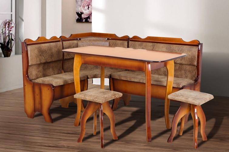 М'який кухонний куточок Мікс-меблі Далас 155х115 см