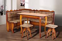 Далас кухонный уголок Микс-мебель 155х115 см