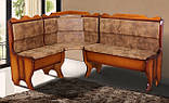 М'який кухонний куточок Мікс-меблі Далас 155х115 см, фото 2