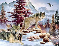 Алмазная вышивка Хозяева зимы 40 х 30 см (арт. FR403) , фото 1