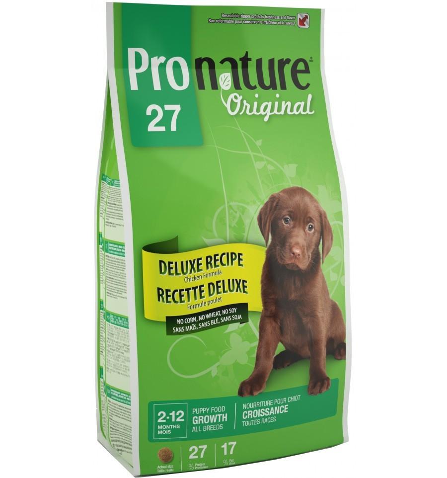 Pronature Original DELUXE Puppy 7.5 кг - корм для щенков всех пород с чувствительным пищеварением