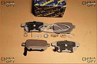 Колодки тормозные задние, дисковые, Great Wall Haval [M4], Abe