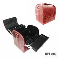 Профессиональный сумка для мастеров маникюра и визажа BPT-01_LeD