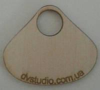 Номерки для гардероба  деревянные с логотипом