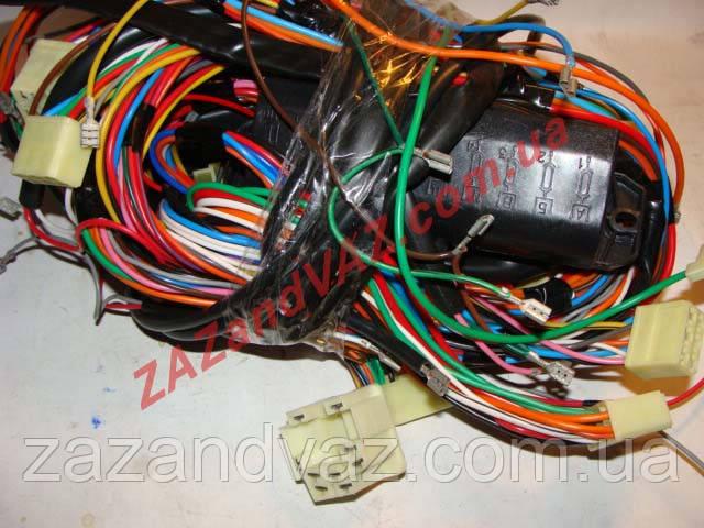 Жгут проводов передний полный проводка ЛЮКС Таврия Славута с 1 блоком предохранителей стандарт карбюратор