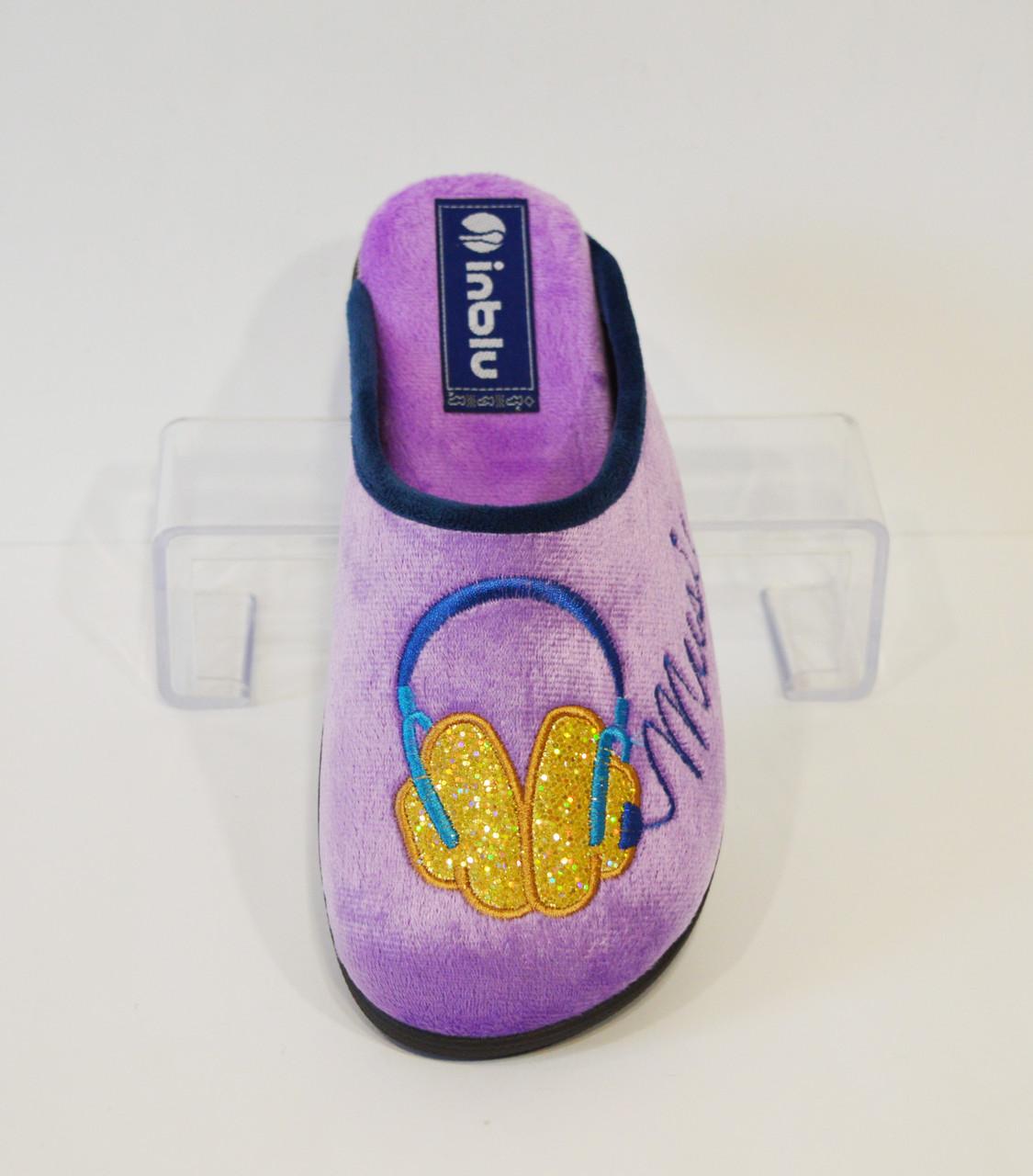Женские фиолетовые тапочки Inblu