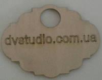 Гардеробные номерки  деревянные с логотипом