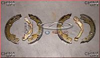 Колодки ручника, ручного тормоза, комплект, Chery E5 [1.5, A21FL], Аftermarket
