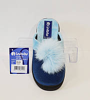Синие женские тапочки Inblu