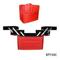 Профессиональная сумка для мастеров маникюра и визажа BPT-04D_LeD