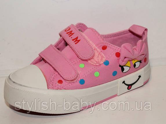 Детская обувь оптом. Детские кеды бренда Tom.m для девочек (рр. с 25 по 30), фото 2