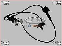 Датчик ABS передний левый, BYD F3 [ до 2012г.,1.5], 10155167-00, Aftermarket