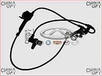 Датчик ABS передний правый (BYD) BYD F3 [1.6, -2010г.] 10155166-00 Китай [аftermarket]