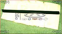 Уплотнитель стекла передней L двери наружный (фетра стекла, наружная) Emgrand EC7RV [1.8,HB] 1068002590 Китай [аftermarket]