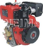 Двигатель дизельный без электростартера WEIMA(Вейма) 186FB (под шлицы 9 л.с.) к мотоблоку