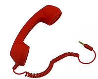 Телефонная ретро трубка MINI для iPhone, iPad, BlackBerry, HTC, Samsung, Красный
