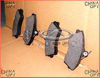 Колодки тормозные передние (E5, тип 6AF) Chery E5 [1.5, A21FL] T11-3501080AC Китай [аftermarket]