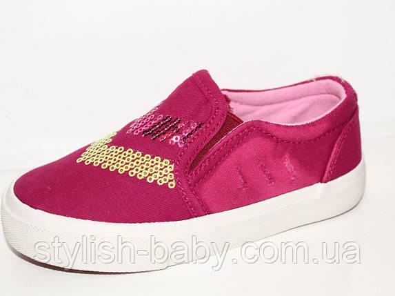 Детская обувь оптом. Детские кеды - слипоны бренда Tom.m для девочек (рр. с 25 по 30), фото 2