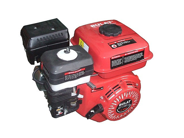 Двигун бензиновий без електростартера BULAT(Булат) BT170F-Т (під шліци, 7,0 л. с.) до мотоблоку