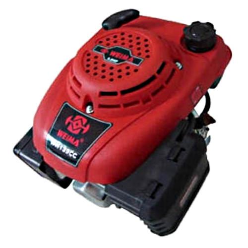 Двигатель бензиновый без электростартера WEIMA(Вейма) WM1P65F (с вертикальным валом) к мотоблоку, газонокосилке