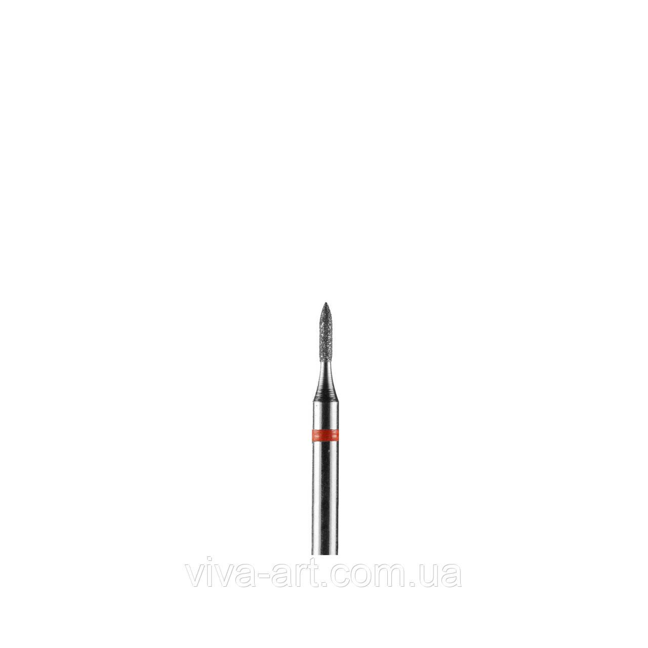 Алмазна насадка піку малий., 1.2 мм, дрібна абразивність, Diaswiss (Швейцарія)