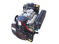 Двигатель дизельный с электростартером WEIMA(Вейма)WM 290FE (под шпонку, 20 л.с.) к мотоблоку