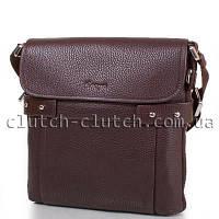 Мужская сумка через плечо Karya 3653 коричневая